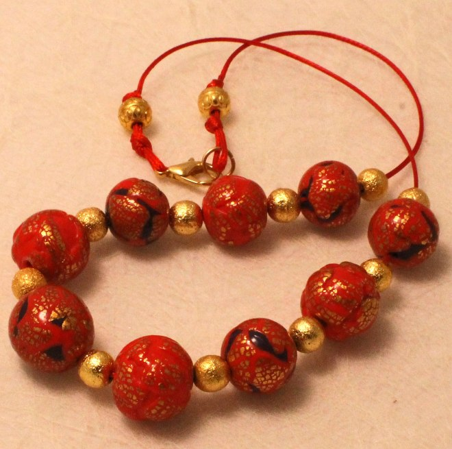 chinese red beads 1