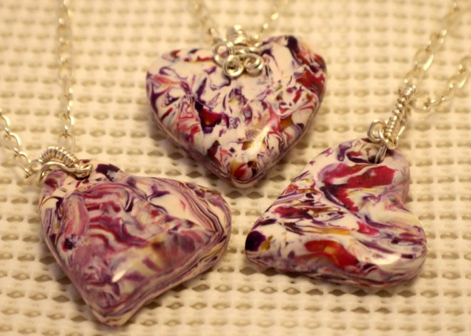 Page 60 508 red purple hearts SP wire wrapped