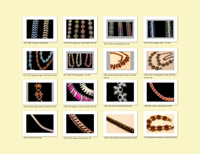 Photo album chainmaille page 3