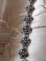 6 Byzantine quatrefoil bright aluminium